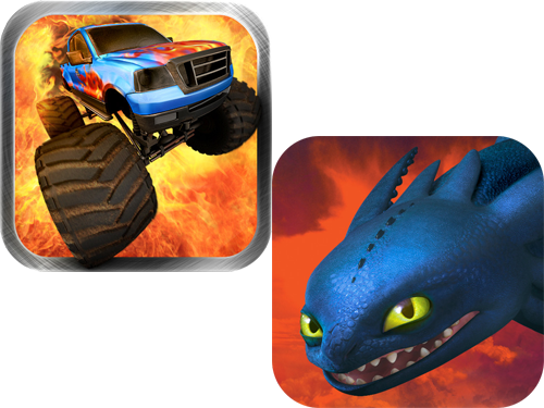 Games For Only $.99: How To Train Your Dragon And MonsterTruck Rally