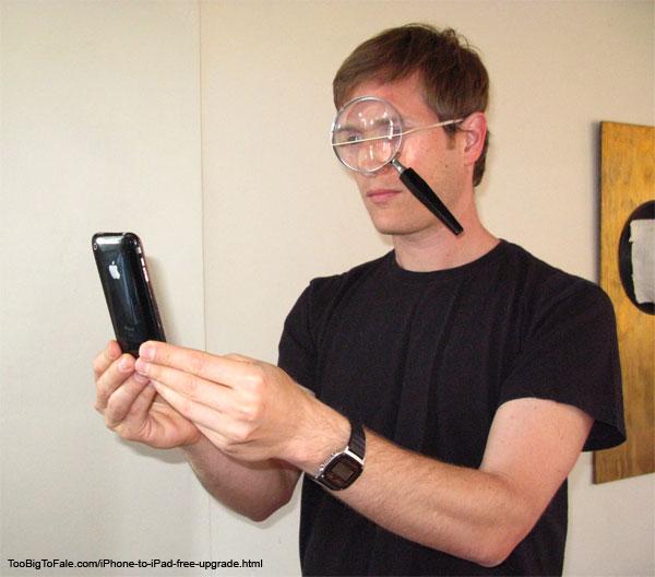 Humor: Free iPhone-To-iPad Upgrade