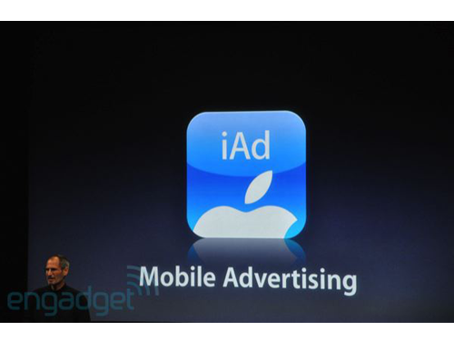 Apple Unveils iAd, An iPhone OS Integrated Ad Platform