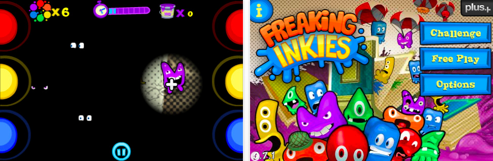 Make A Splash On iPhone With Freaking Inkies