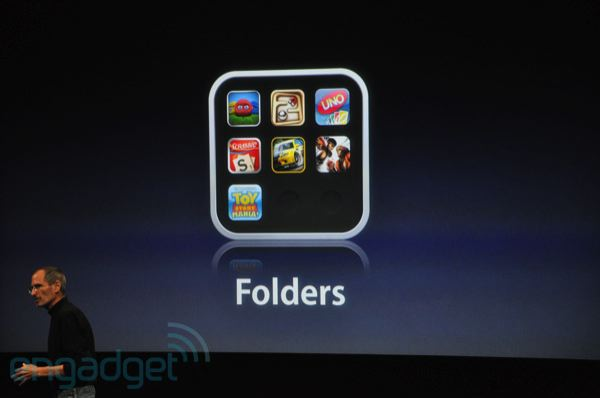iphone app folder manage your iphone with folders 11594