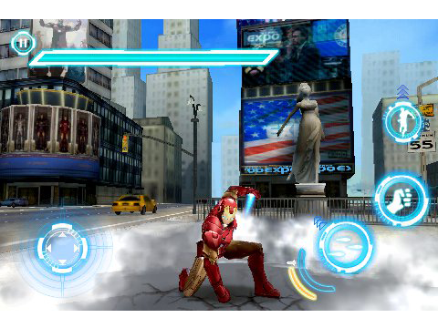 Gameloft Releases First Screenshots Of Iron Man 2 For iPhone, iPod Touch, And iPad