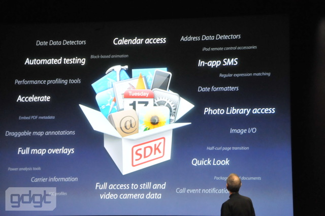 iPhone OS 4.0: Devs get it first