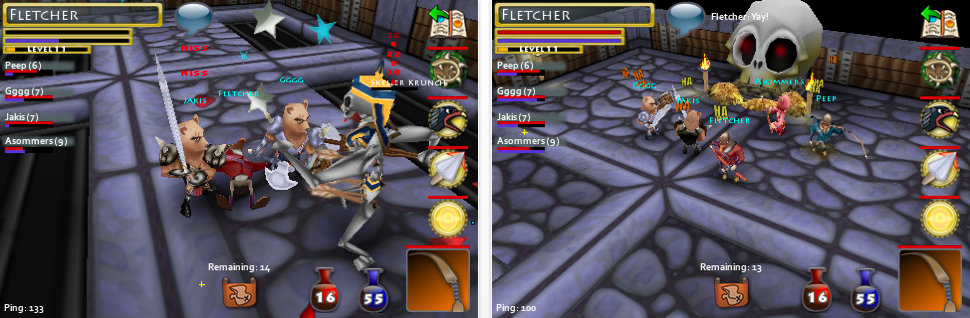 Pocket Legends - 3D MMO App For iPhone