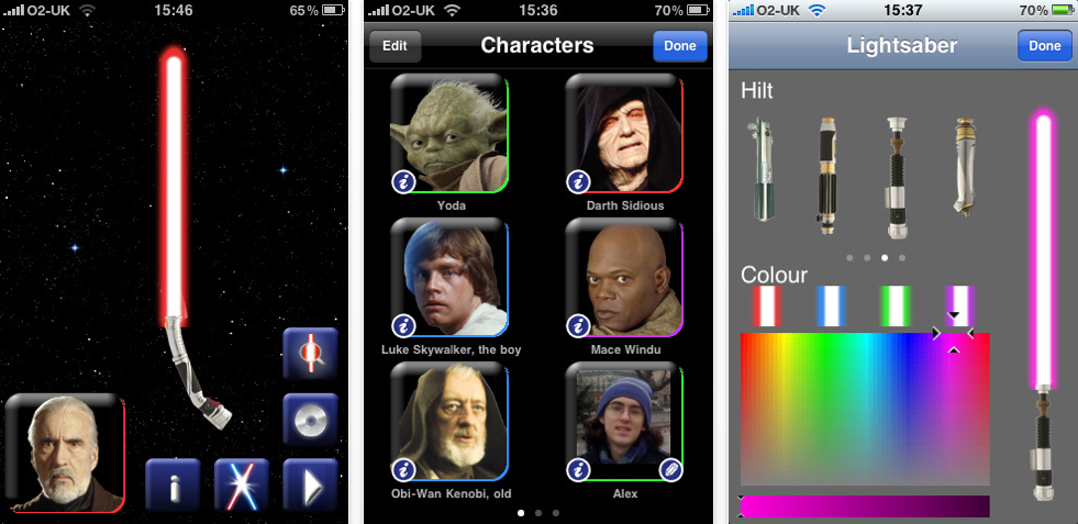 Star Wars - 2 Player Lightsaber Duels on iPhone