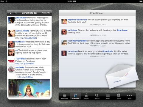 Twittelator For iPad Updated And On Sale To Celebrate Impending iPad 3G Release