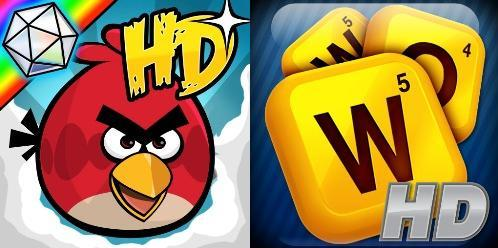 QuickAdvice: Angry Birds HD & Words With Friends HD