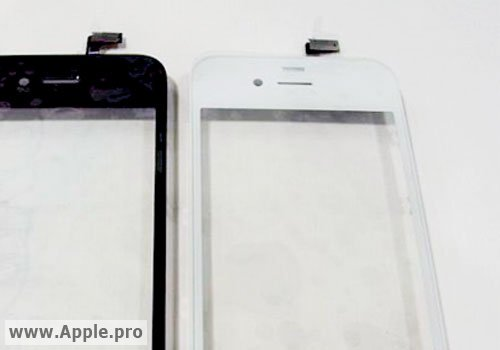 Leaked Parts Hint At White iPhone HD Edition