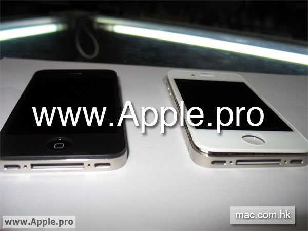 Leaked White iPhone HD Hits The Web?