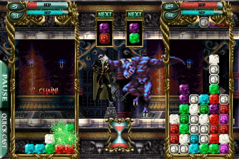 Konami Is Bringing Castlevania To The iPhone In Puzzle Form