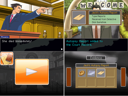 Phoenix Wright Presents His Case On The iPhone
