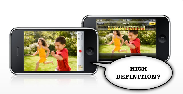 HD Recording Coming To Next iPhone?