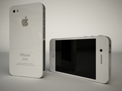 These White iPhone HD Renderings Will Make You Love The New Design