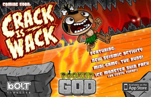 Pocket God Ep. 32: Crack is Wack is out!