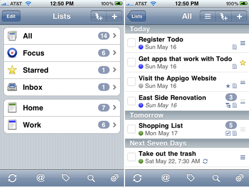 Appigo's Todo For iPhone On Sale For The First Time Ever