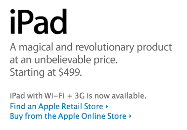 Apple and AT&T Hit With Lawsuit Over Disappearance of iPad Unlimited Data Option