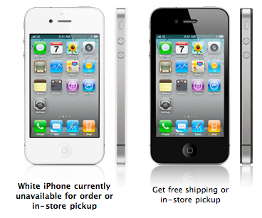 Want A White iPhone 4? Just Buy Black And Return Within 30 Days...