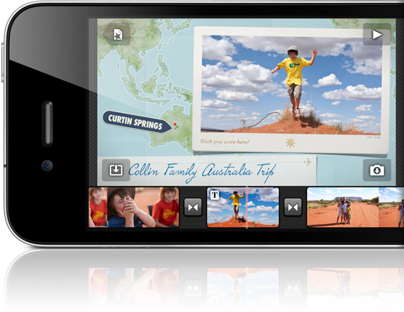 Apple's iMovie Will Work Only With iPhone 4, Not iPad