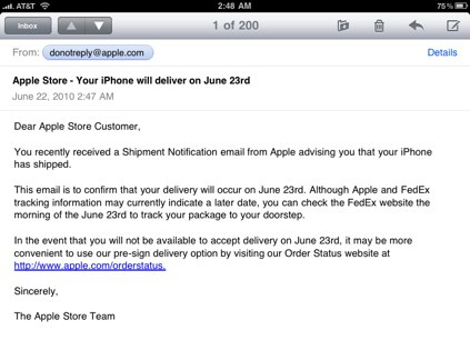 iPhone 4 Pre-Orders Coming Early?