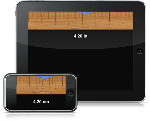 Co-Creator Of Classics Releases Digital Ruler App For iPhone And iPad
