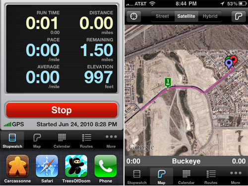 Runmeter Is Now Able To Keep Recording Your Workout Even When Interrupted