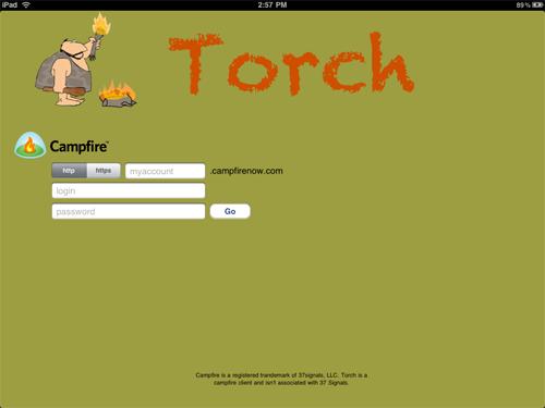 Torch Campfire For iPad Now Available - Plus A Chance To Win A Copy