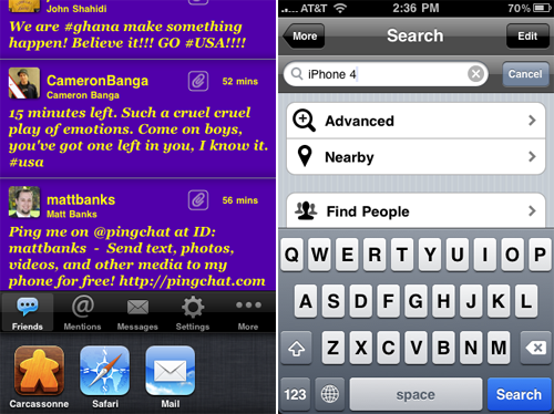 Twittelator Updated With Fast App Switching, Speed Improvements
