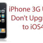 Apple Looking Into iOS 4 Problems On iPhone 3G
