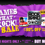 "EA's ""Games That Rock Sale"" Includes Rock Band, Skate It, Mirror's Edge And More"