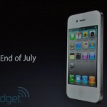 White iPhone 4 Will Be Available On July 30th