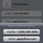 Email-Based FaceTime Support Is A Go In iOS 4.1 Beta 3