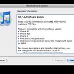 Apple Releases iOS 4.0.2 & 3.2.2 - Fixes The PDF Exploit, Kills The Jailbreak