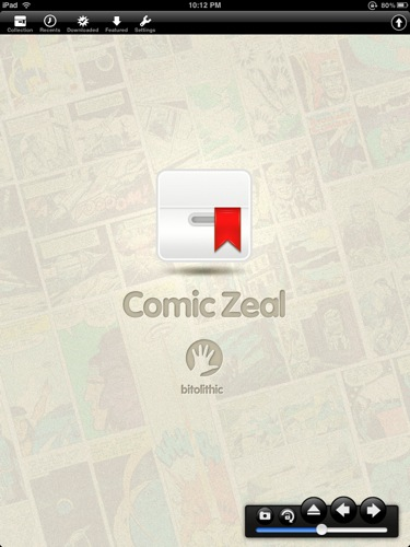 QuickAdvice: Turn Your iPad Into A Full Fledged Comic Reader With Comic Zeal