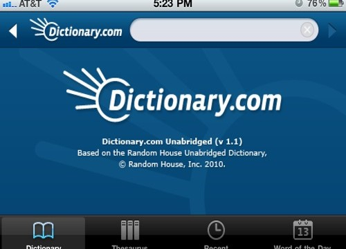 QuickAdvice: Carry Dictionary.com In Your Pocket, Minus the Ads