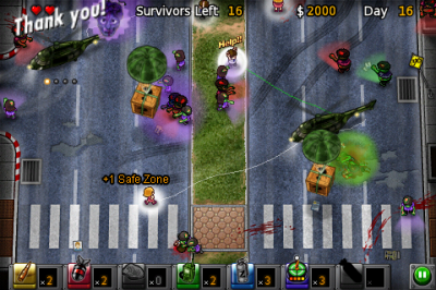 Review: Zombie Escape - Zombie Infected Path Drawing
