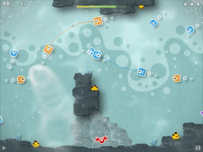 Review: Aqua Globs HD - Path Drawing Glob Matching Now On iPad - Plus Giveaway