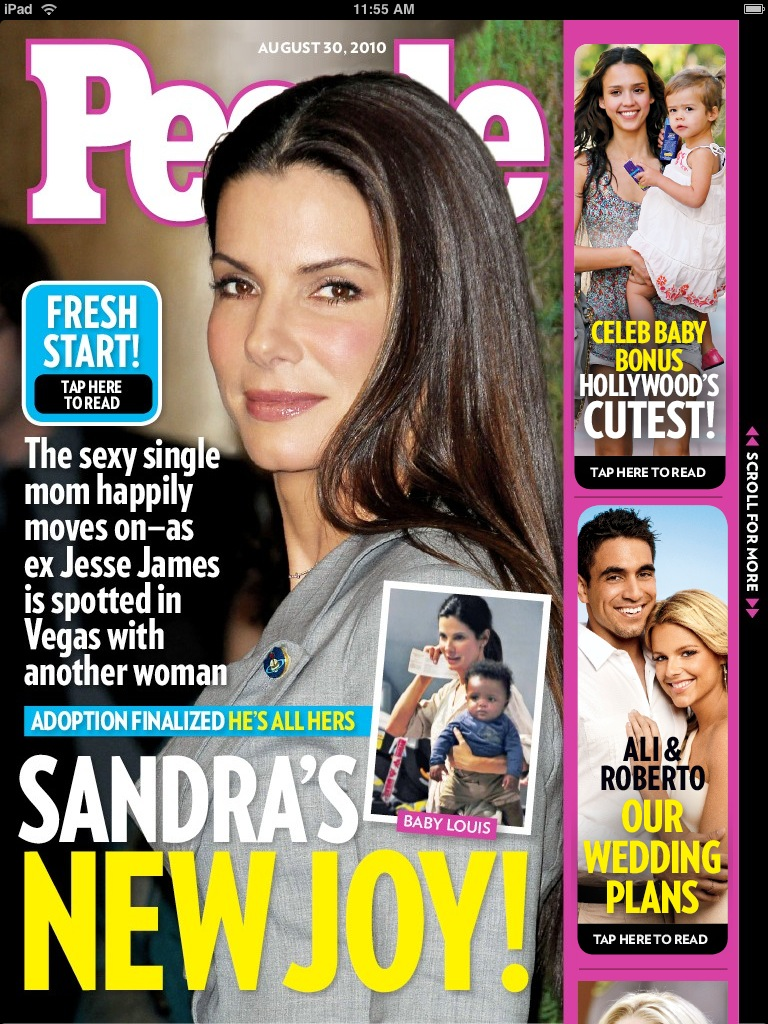 Review: People Magazine - People In Love With iPad?