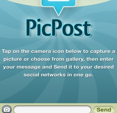 QuickAdvice: Share Photos To Multiple Sites At Once With PicPost