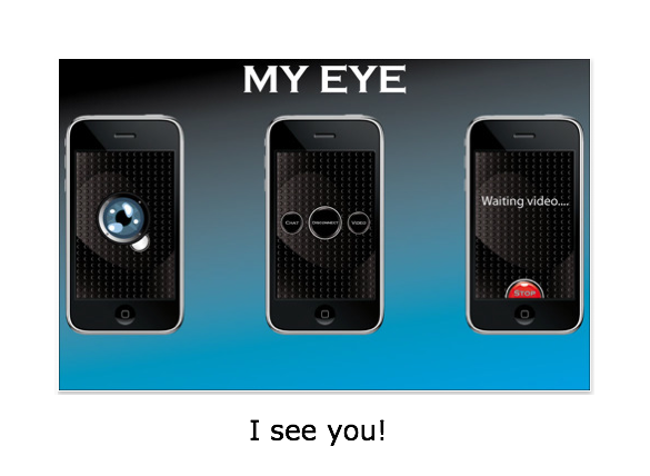 MY EYE: Share What You're Seeing Through The Magic Of Bluetooth