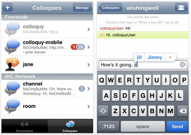 Colloquy Updated - Great App Gets New Features