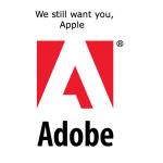 "Adobe Chief: ""Our Doors Are Open"" If Apple Wants To Walk Back Through"