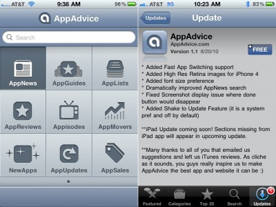 You Asked For It! AppAdvice App Gets With The Times - Multitasking, Retina & More - Win A Free Copy