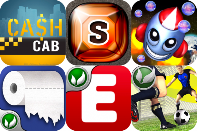 iPhone And iPad Apps Gone Free: Cash Cab, GemSudoku HD, Bubble Rockit And More