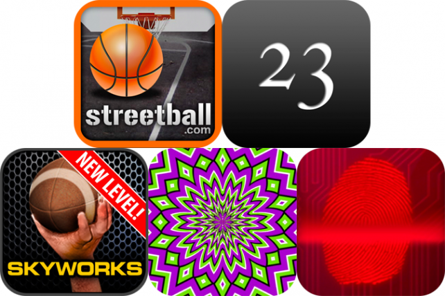 iPhone And iPad Apps Gone Free: Streetball, TwentyThree, Illusions For iPad And More
