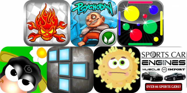 iPhone And iPad Apps Gone Free: LilRacerz Pro Rally, Sports Car Engines 2, DodgeDot And More
