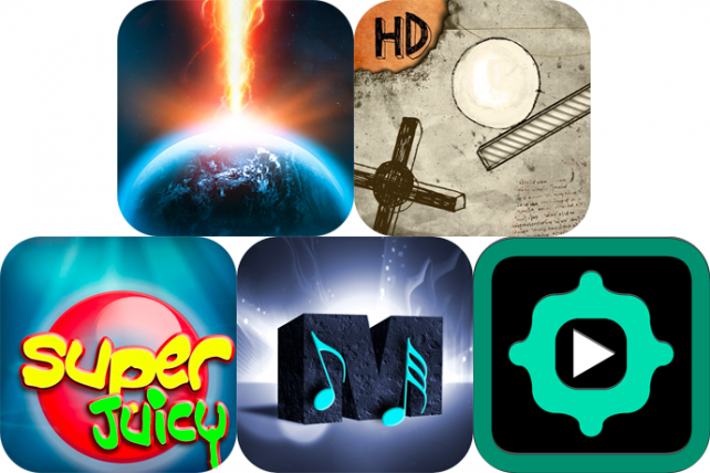 iPhone And iPad Apps Gone Free: Earth Defender, Rafter HD, MakeMyMusic And More