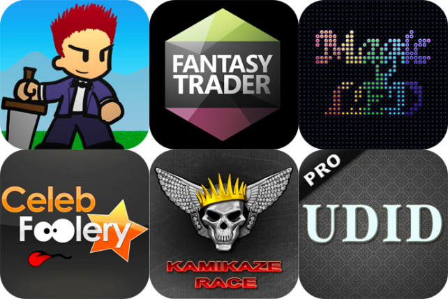 iPhone And iPad Apps Gone Free: Fastar!, Fantasy Trader, Magic LED And More