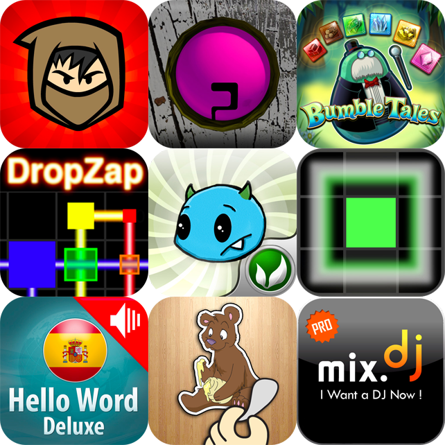 iPhone And iPad Apps Gone Free: Rhythm Spirit, Fayju Ball, Bumble Tales And More
