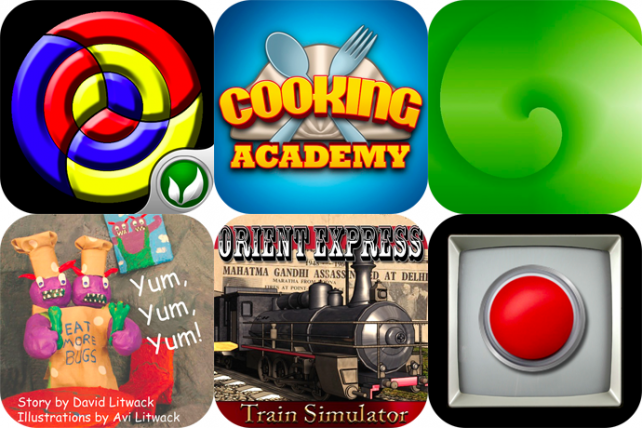 iPhone And iPad Apps Gone Free: Jumbled, Cooking Academy, Fast25 And More