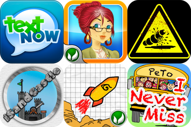 iPhone And iPad Apps Gone Free: TextNow, Jojos Fashion Show 2, iDestroy And More